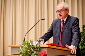 Festredner 2013: Staatsminister a.D. Günter Gloser. Bild: Martin Stammler