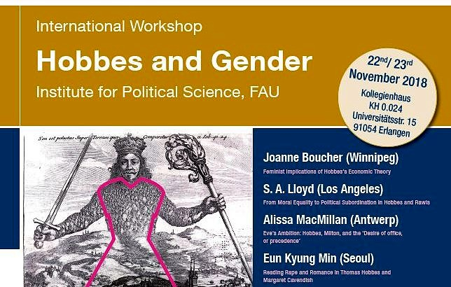 "Zum Artikel ""Internationaler Workshop ""Hobbes and Gender"""""