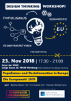 "Zum Artikel ""Design Thinking Workshop zu Populismus und Desinformationen in Europa – Die Europawahl 2019"""